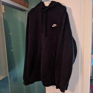 Oversized Nike Hoodie Black